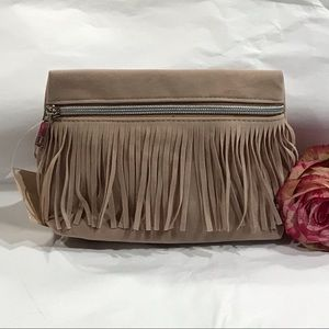 6 FOR $30! Sueded Cosmetic Bag